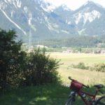 Lechradweg bei Reutte